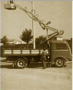 意大利Multitel(麦迪特)蜘蛛式高空作业车