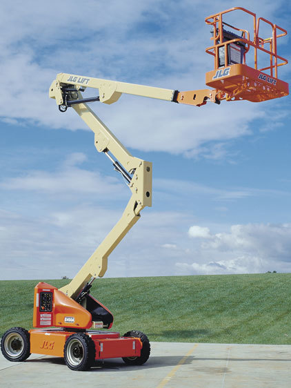 E450AJ电动曲臂式高空作业平台
